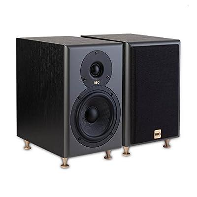 TIBO Legacy 3+ | Passive Hi-Fi Bookshelf Speakers | 150W | Black, 23017 from TIBO