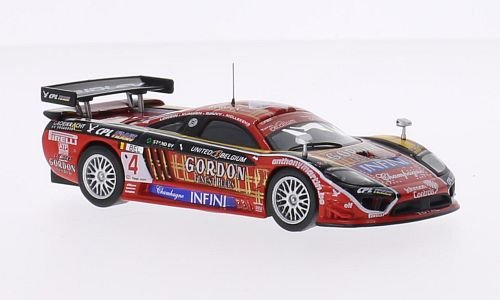 Saleen S7-R, No.4, Gordon, 24h Spa, 2008, Modellauto, Fertigmodell, SpecialC.-06 1:43