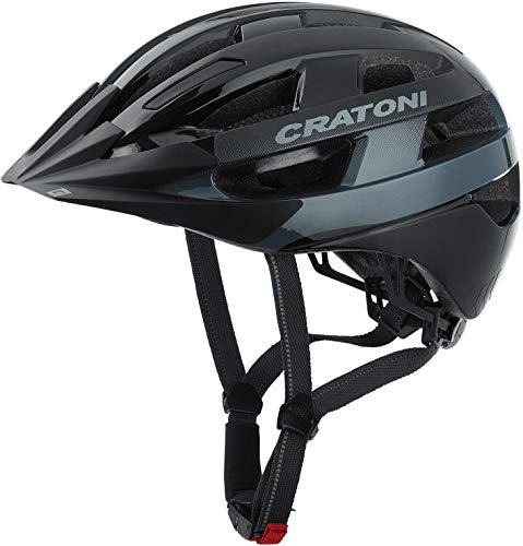 Cratoni Velo-X Helm Black Gloss Kopfumfang S/M | 52-57cm 2020 Fahrradhelm