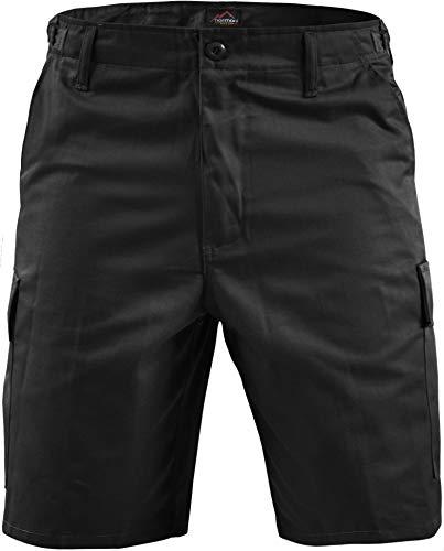 normani Kurze Bermuda Shorts US Army Ranger Feldhose/Arbeitshose S - XXXL Farbe Schwarz Größe L