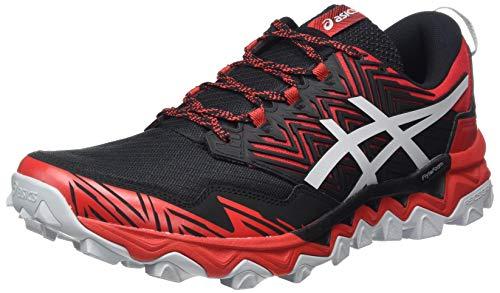 ASICS Gel-Fujitrabuco 8, Zapatillas de Running para Hombre, Classic Red Piedmont Grey, 49 EU