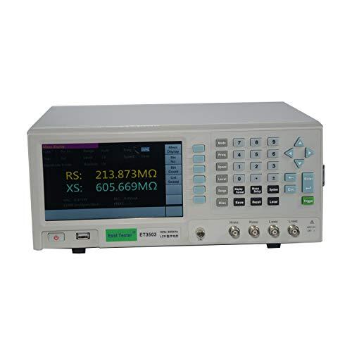 Langlebigpräzise Digitales LCR-Messgerät für den Labortisch ET3503 Hochpräzise digitale LCR-Brücke +/- 0,05% Genauigkeit, Messbereich 10 Hz ~ 300 kHz, 6 1/2 stelliges Display, Dauerbetrieb 200-240 V l