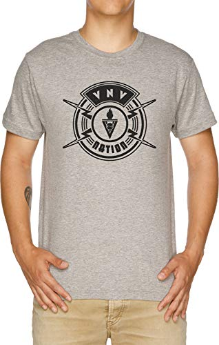 The Nation Herren T-Shirt Grau