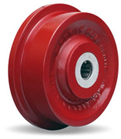 Single Flanged Track Wheel 6-1/8
