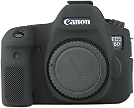ANYI DIANZI Silicone Cover for Canon 6D (black)