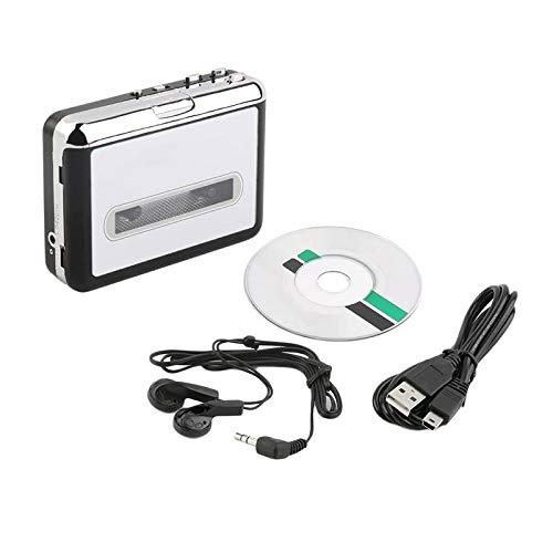 HRNAKDFKL Walkman - Reproductor de casete universal con toma de audio de 3,5 mm y puerto de audio de 3,5 mm