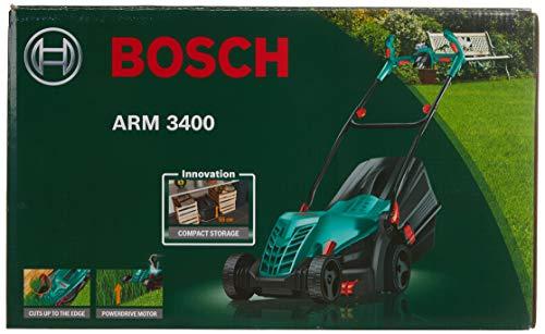 Bosch arm3400cortacésped Empuje Eléctrico (1300W, corte 34cm