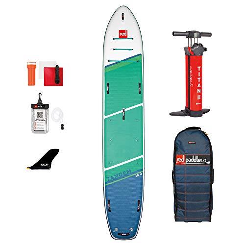 Red Paddle 15'0″ Voyager Tandem Tabla Sup, Adultos Unisex, Multicolor, Uni