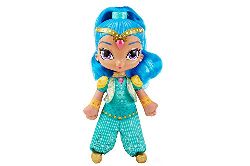 Fisher-Price Shimmer and Shine–Puppe Blister spanische Fassung blau