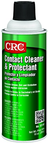CRC 3140 Contact Cleaner and Protectant 10 oz Aerosol Can Clear