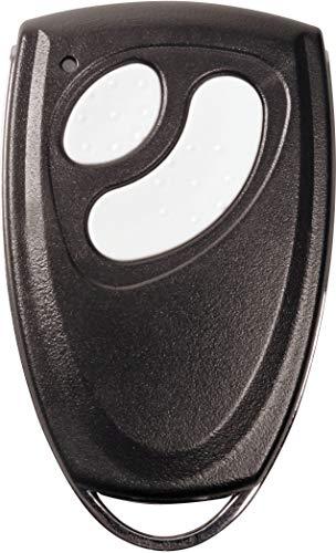 RADEMACHER Micro-Handsender 2-Kanal für RolloPort Garagentorantrieb, Garagentor Fernbedienung für Schlüsselbund, RP-MHS-RF63, Schwarz