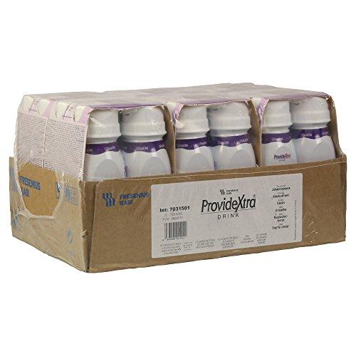 ProvideXtra DRINK Johannisbeere, 200 ml - niedermolekulare Zusatznahrung - 24 EasyDrinks