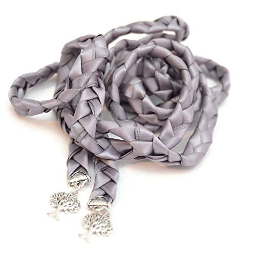 Divinity Braid Gunmetal Tree of Life Wedding Handfasting Cord #DivinityBraid #Celtic #Handfasting #TreeOfLife #Wedding #HandfastingCord #DreamWedding #TrendyWedding #WeddingTrends