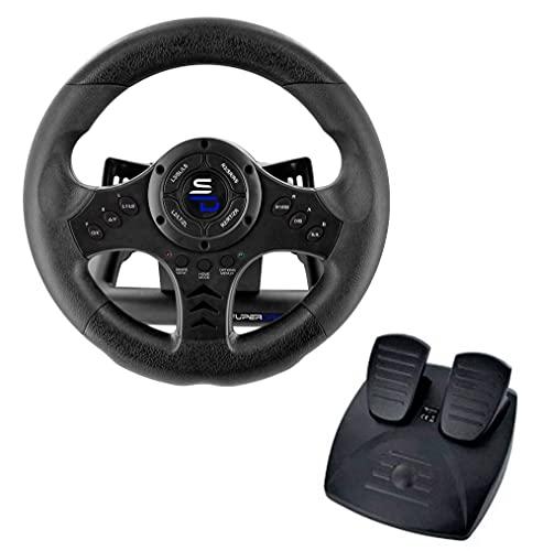 Subsonic - Superdrive, Volante De Carreras Sv450 Con Pedales, Cambio Y Vibración, Xbox X/Series, Switch, Ps4, Xbox One, Pc (Programable Para Todos Los Juegos), Xbox Series X