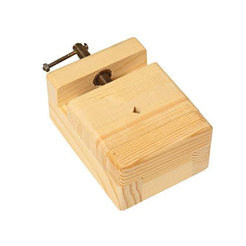 HEALLILY Handschrauben Holzklemme Handschraubenklemmen für Die Holzbearbeitung Holzbank Schraubstock Werkzeug für Handwerk DIY