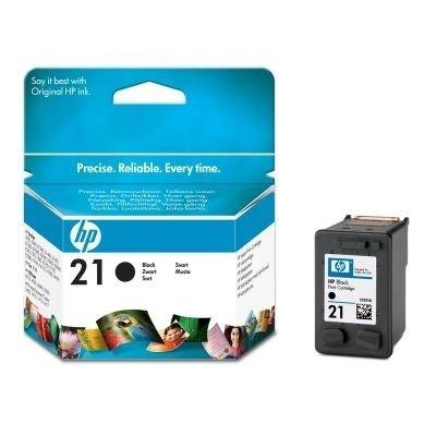 HP 21 Negro Cartucho de impresión de inyección