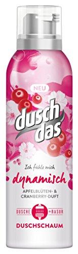 Duschdas Duschschaum + Rasur Ich fühle mich dynamisch 200 ml, 6er Pack (6x 200ml)