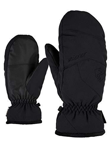 Ziener Damen KARRIL GTX Mitten Lady Glove Ski-Handschuhe/Wintersport | Wasserdicht, Atmungsaktiv, Black, 6