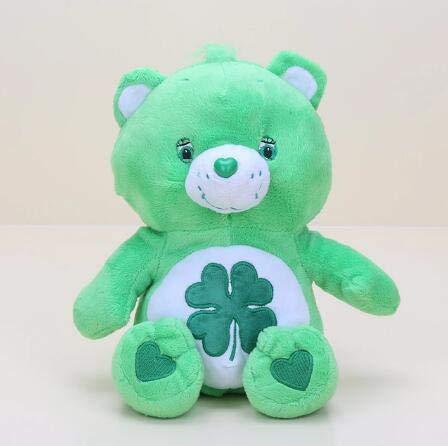 Troetelbeertjes Knuffel, Regenboog Teddybeer Gevulde Pop, Babyslaap Speelgoed, Verjaardagscadeau Voor Kinderen 30 Cm (Groen)
