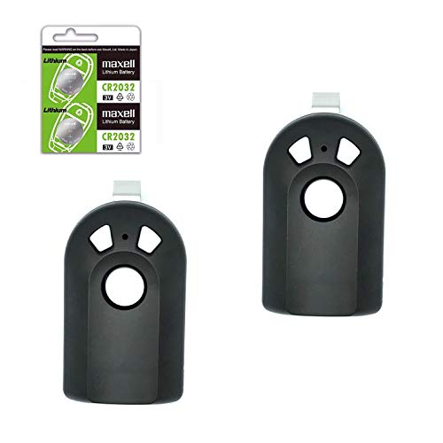 2 Garage Door Opener Remote for Genie Intellicode & Overhead Door ACSCTG Type 1 Type 2 Type 3