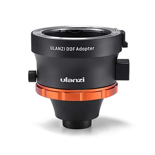 BEESCLOVER Ulanzi DOF Adapter E Mount Full Frame Camera Lens Adapter Smartphone SLR/DSLR & Cinema Lens Adapter for i-Phone Andriod Phones -for ce