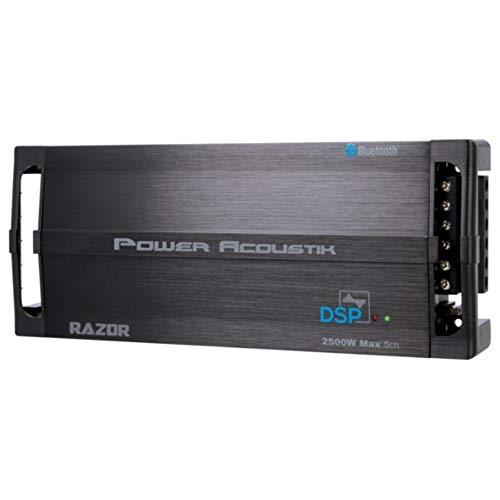Power Acoustik Razor Series RZ5-2500DSP 2,500w 5 Channel Amplifier w/Built-in DSP