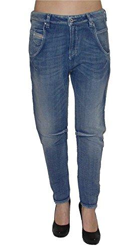 Diesel Damen Stretch Jogg Jeans FAYZA 0800H Boyfriend blau (W28)