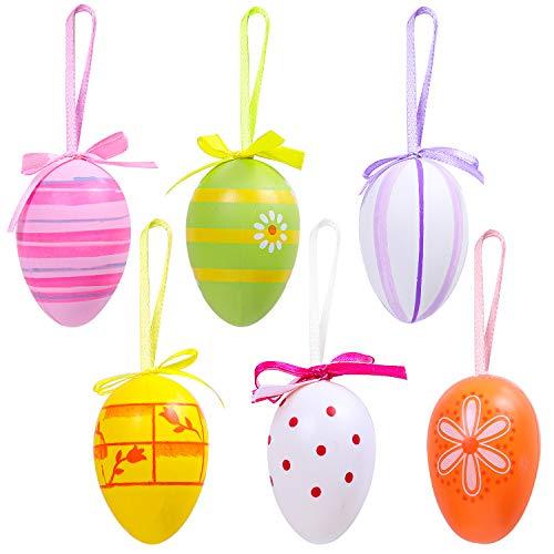 Elcoho 6 Pieces Easter Hanging E...