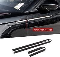 ABS炭素繊維スタイル車サイドフェンダードーバートリム にとって ランドローバーレンジローバーVELAR