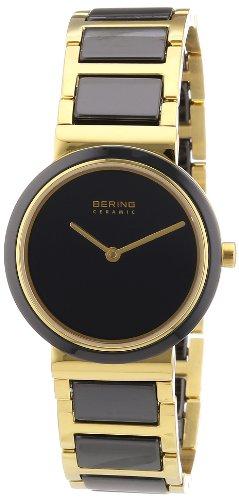 BERING Reloj Analógico para Mujer de Cuarzo con Correa en Acero Inoxidable 10729-741