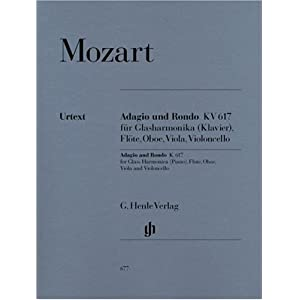 Adagio + Rondo KV 617. Klavier, Flöte, Oboe, Viola, Violoncello