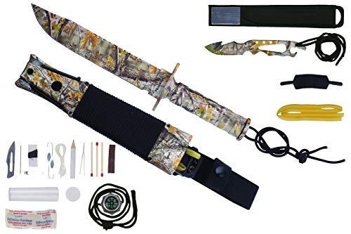Maxam Mossberg Survival Knife (Camo)