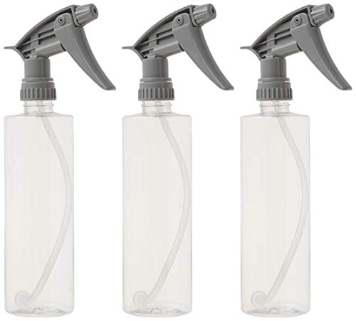 Chemical Guys Acc_121.16HD3 Acc_121.16HD-3PK Chemical Resistant Heavy Duty Bottle and Sprayer, 16 oz, Pack of 3