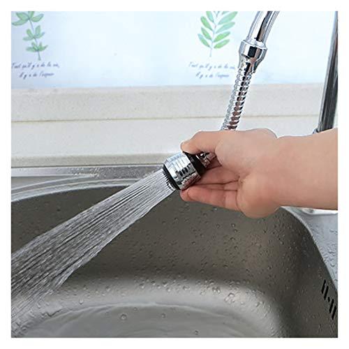 Rotable Ajustable 2 Modos Cocina Extensión del Grifo 360 ° Bubbler Giratorio Guardo de Agua Toque Toque de Alta presión Boquilla Filtro Adaptador Accesorios de baño
