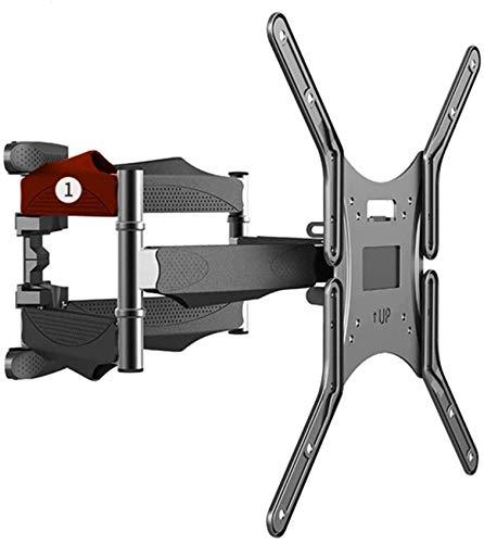 JSONA Soporte de TV Full Motion 32-60 Pulgadas LCD/Led TV Montaje en Pared Rejilla de TV retráctil Montaje en Pared LCD-Bracket 6 Brazos oscilantes MAX 400X400Mm