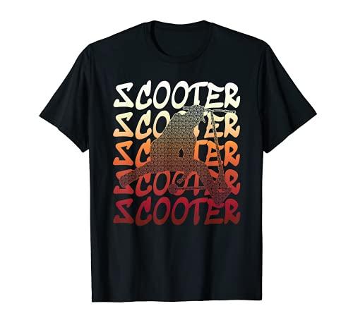 Truco scooter scooter retroceso scooter salto retroceso Camiseta