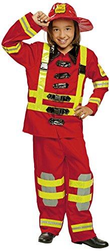 My Other Me - Costume per travestimento da Pompiere, Bambini, 7-9 anni