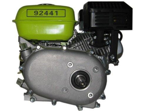 Varan Motors 92441 Benzinmotor 6,5Hp 4,8KW mit Ölbadkupplung, Reduktionsgetriebe 1/2, Achse mit Passfederkupplung 19.96mm