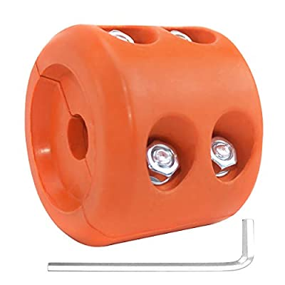 YZ-Room Winch Cable Hook Stopper Durable & Shock Absorbent Winch Stopper Winch Accessories for Wire & Synthetic Cables ATV Accessories - Prevent Pulling, Bouncing & Fraying (Orange)