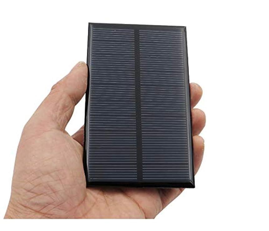 透けて見える雑多な読むソーラーパネル 携帯電話のバッテリー多結晶シリコンエポキシソーラーパネル充電モジュールミニ太陽電池5V 0.25A 1.25W YXJJP