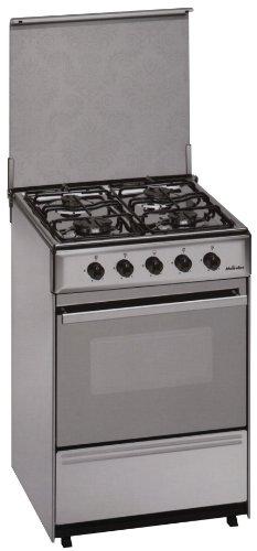 Meireles G 2540 V - Cocina (44 L, Gas natural, 44 L, Gas, Giratorio, Frente) Acero inoxidable