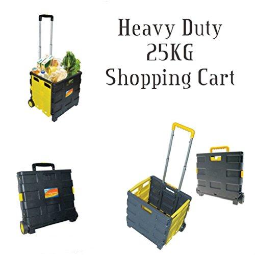 Plegable para carro carrito de la compra plegable caja de almacenamiento Caja de ruedas plegable