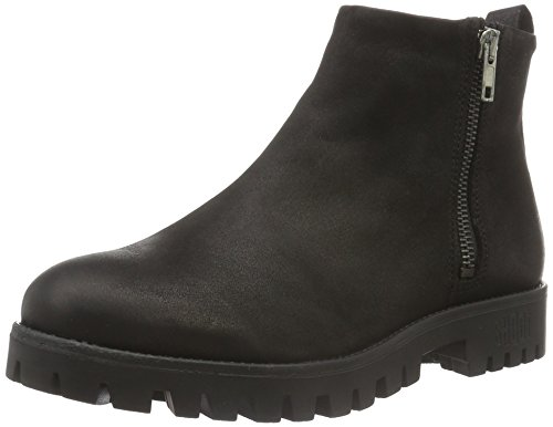 Shoot Damen Shoes SH-216041M Kurzschaft Stiefel, Schwarz (Black), 39 EU