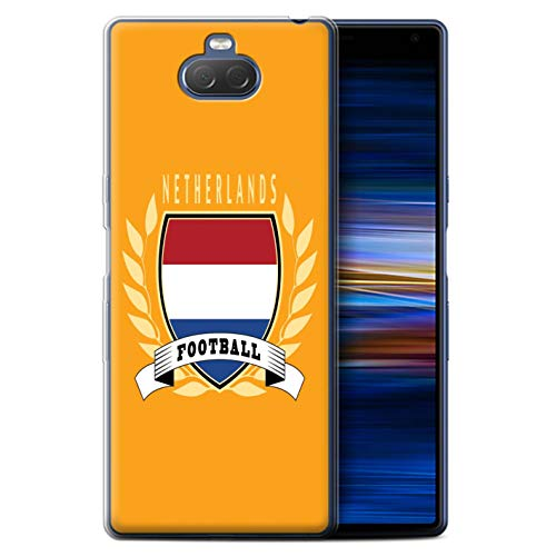 eSwish Telefoon Case/Cover/Skin/SXP-GC/Voetbal Embleem Collectie Sony Xperia 10 2019 Netherlands/Dutch