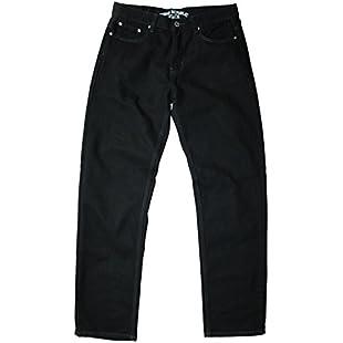 Urban Republic men's comfort fit black jean, 36W 32L