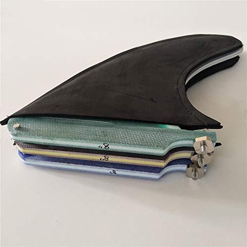 UPSURF Classic Surfboard Center Single Fin Fiberglass 7 Inch 10.25 Inch