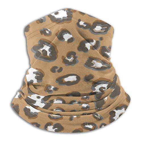 Aeykis Tierhautmuster Vektorbild Halbgesichtsschal, winddichte Halsmanschette mit Gehörschutz
