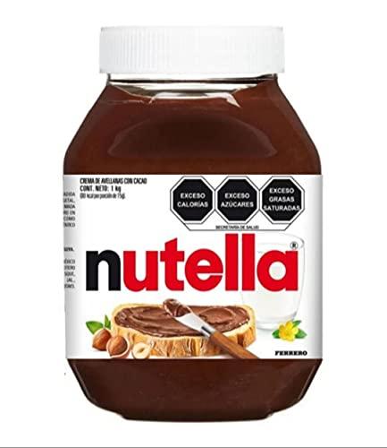 Nutella Ferrero crema de avellanas con cacao 1 kg