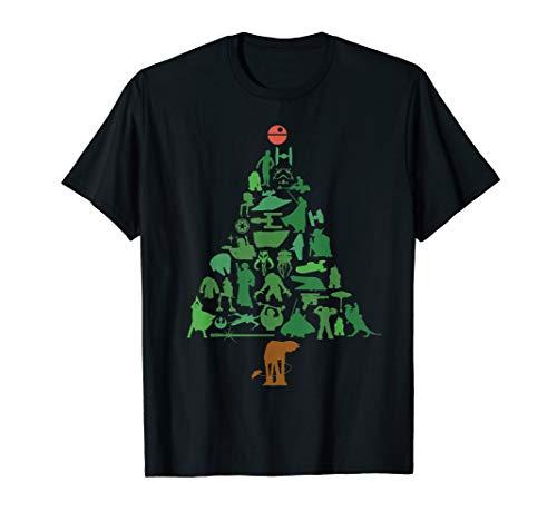 Star Wars Holiday Christmas Tree T-Shirt