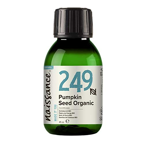 Naissance Aceite Vegetal de Semillas de Calabaza BIO 100ml - 100% puro, prensado en frío, certificado ecológico, vegano y no OGM …